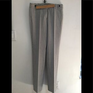 ANN TAYLOR SEERSUCKER SIGNATURE FIT PANTS